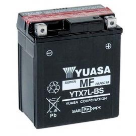 Batería moto YTX7L-BS Yuasa AGM 12V. 6Ah.