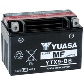 Batería moto YTX9-BS Yuasa AGM 12V. 8Ah.